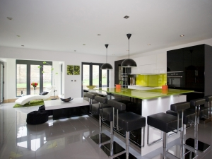 Personally designed flexible space - Broomfield Avenue kitchen