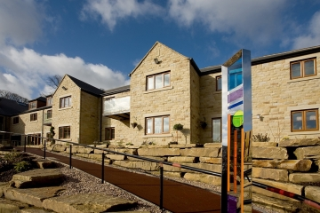 Holme Valley Court retirement complex in Holmfirth