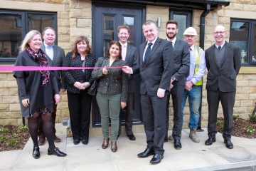 New affordable homes by Conroy Brook in Upperthong, Holmfirth.
