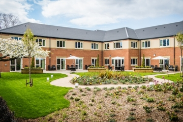 Augustus Care Home - home built by Conroy Brook