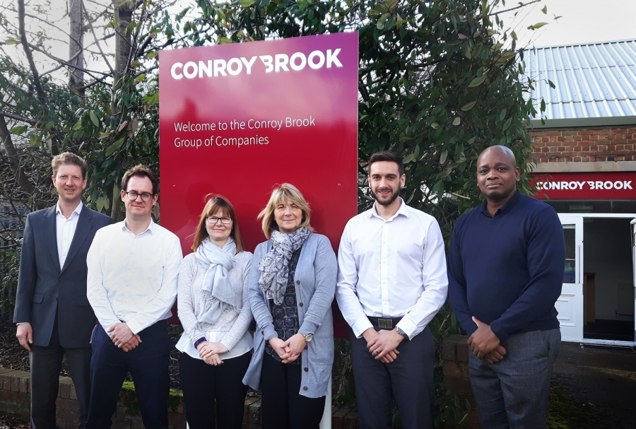 The Conroy Brook team