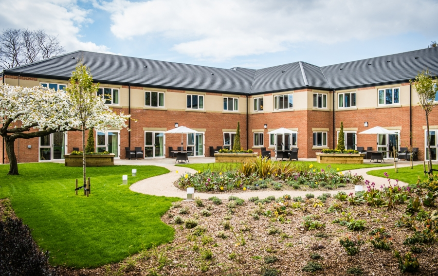 Leeds care home augustus court built by conroy brook Nursing home architecture
